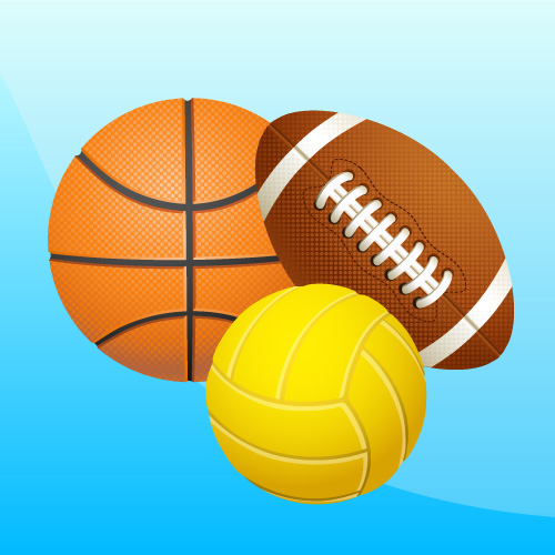 football-basketball-volleyball